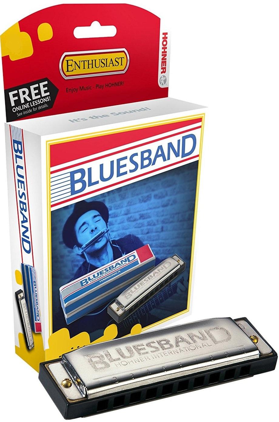 Hohner Blues Band tony. C harmonika ústne