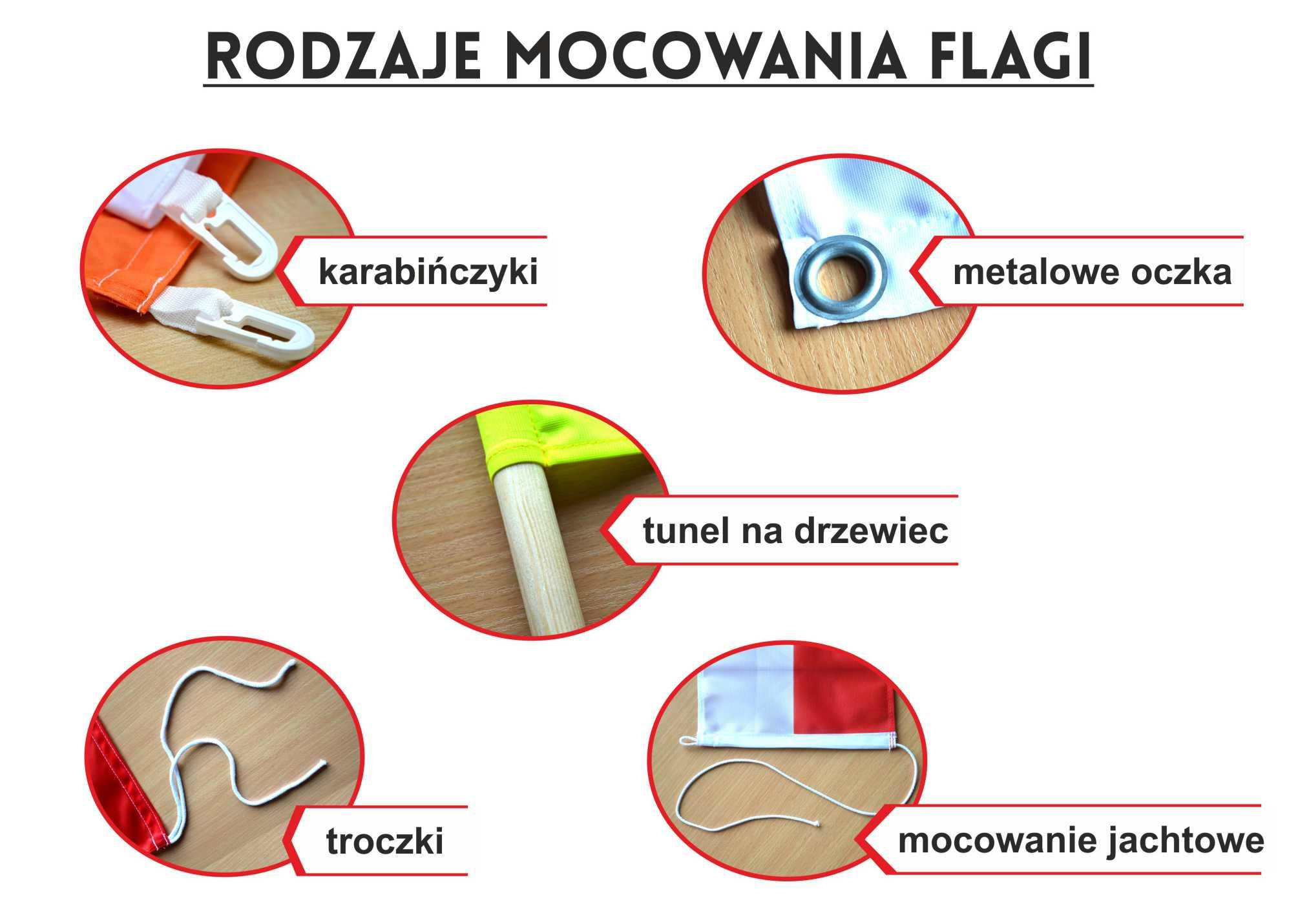 Купить Флаг Великопольского восстания 150x90cm - flags qw на Otpravka - цены и фото - доставка из Польши и стран Европы в Украину.