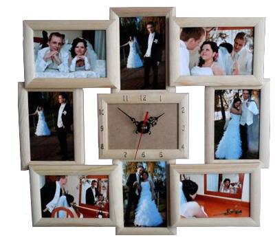 Drevené rámové závesy 10x15 Multiram foto