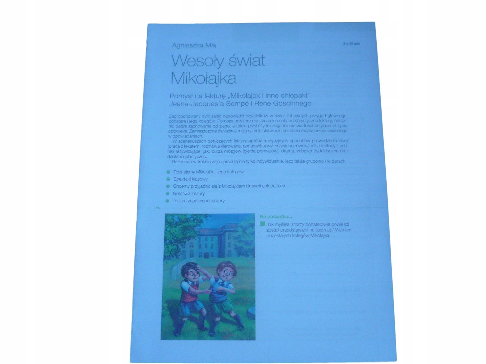 Mikołajek I Inne Chłopaki Opracowanie Testy 7684409545 Allegropl