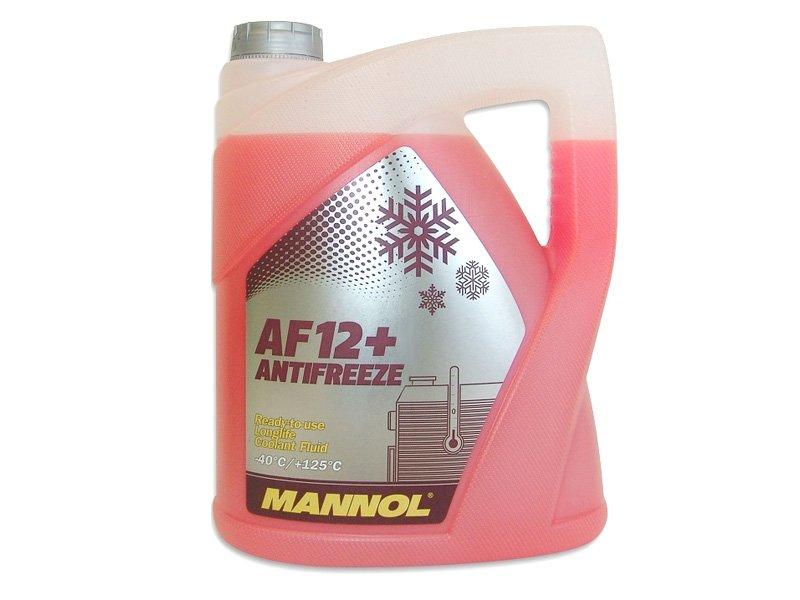 Антифриз Mannol 5Л до-40C Розовый 912 G12+