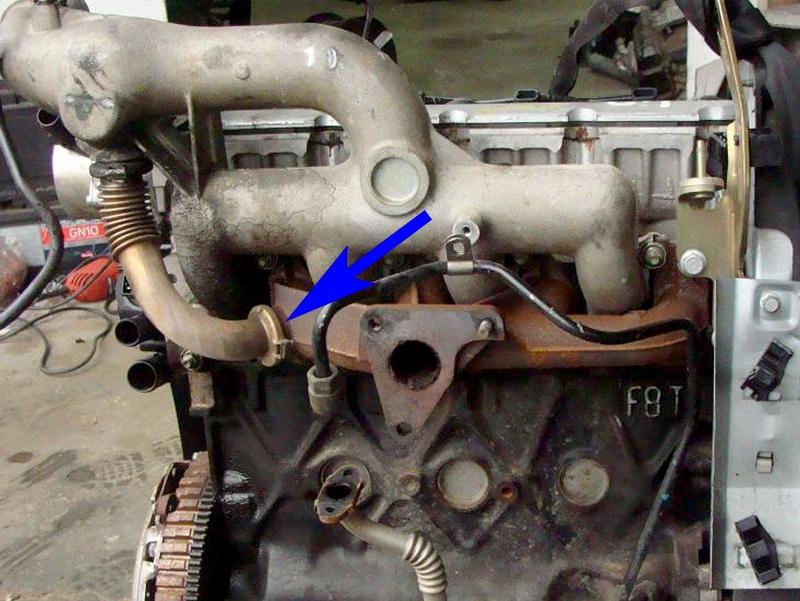 85. Zaślepka EGR Renault Nissan Volvo Opel 1.9 dCi