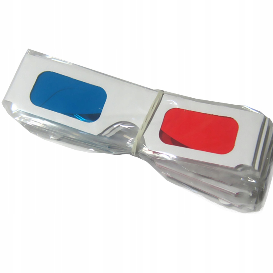 Item Stereo viewing - 3D glasses 10 PCs red-cyan