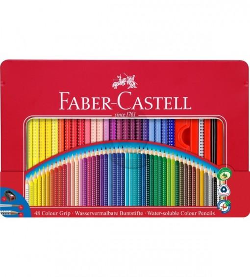 Faber-Castell akvarelové Pastelky GRIP 2001 48 kovov