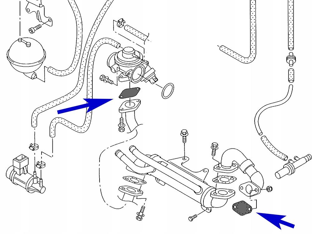 17. Zaślepka EGR VW Audi Skoda Seat 1.9 2.5 TDI PD