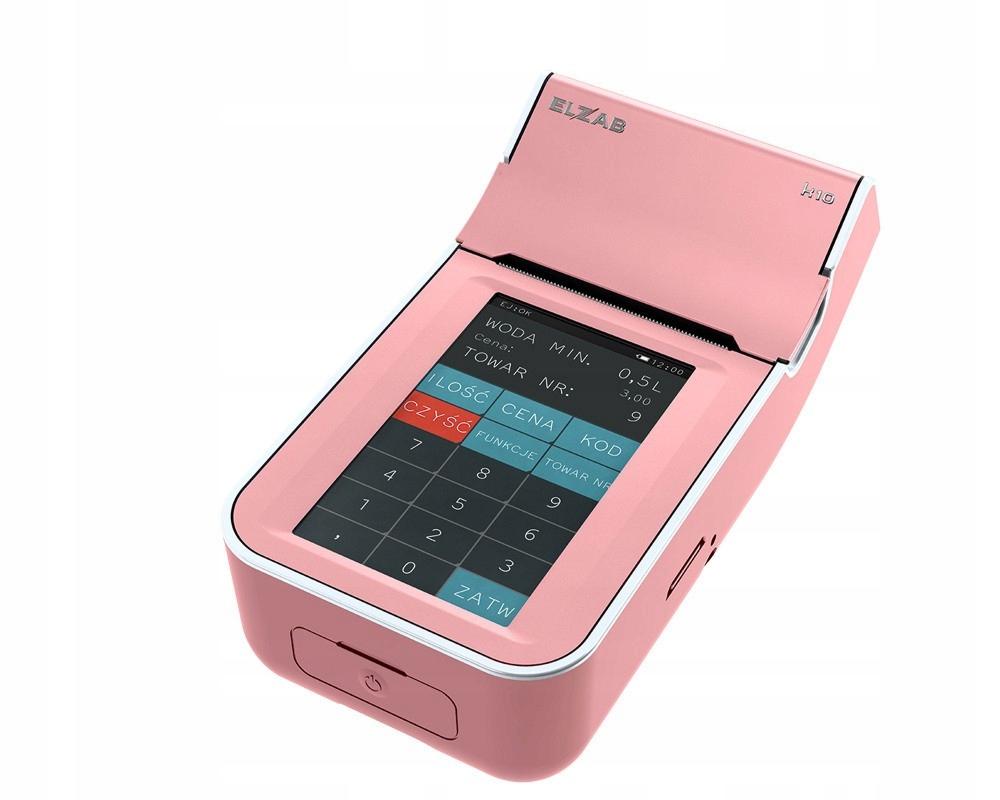 Fiškálna pokladnica Elzab K10 Pink