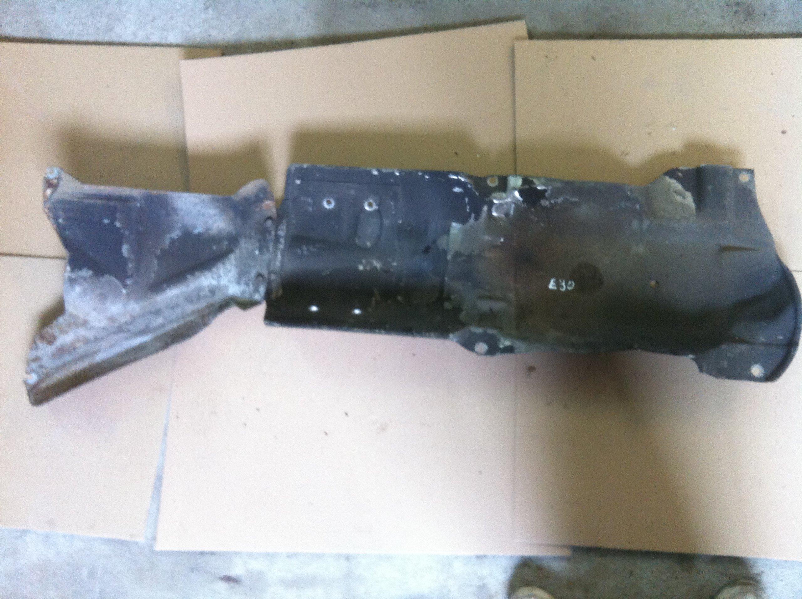 bmw e30 крышка термическая выдохе