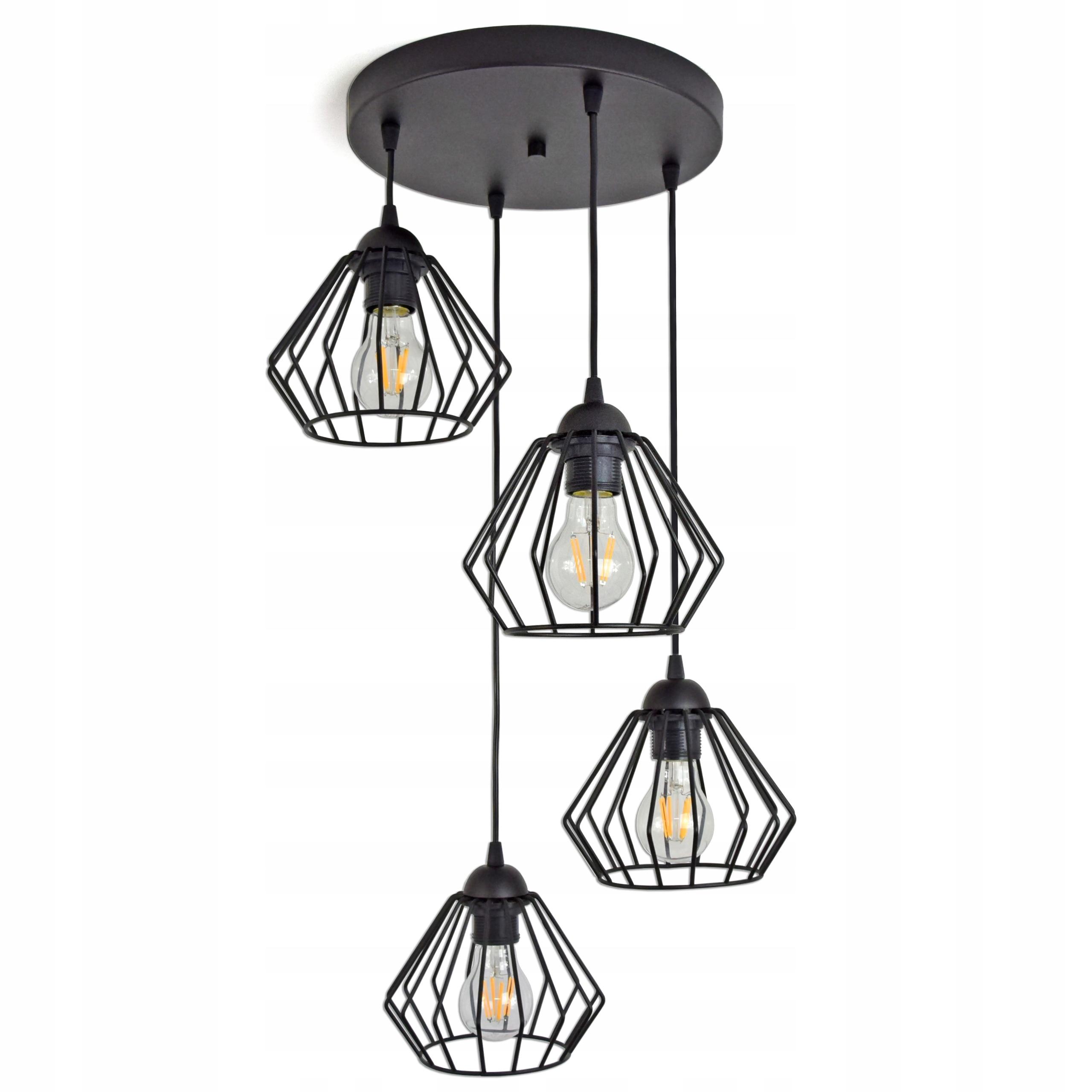 LAMPA WISZĄCA SUFITOWA ŻYRANDOL BRYLANT LED 724 E4