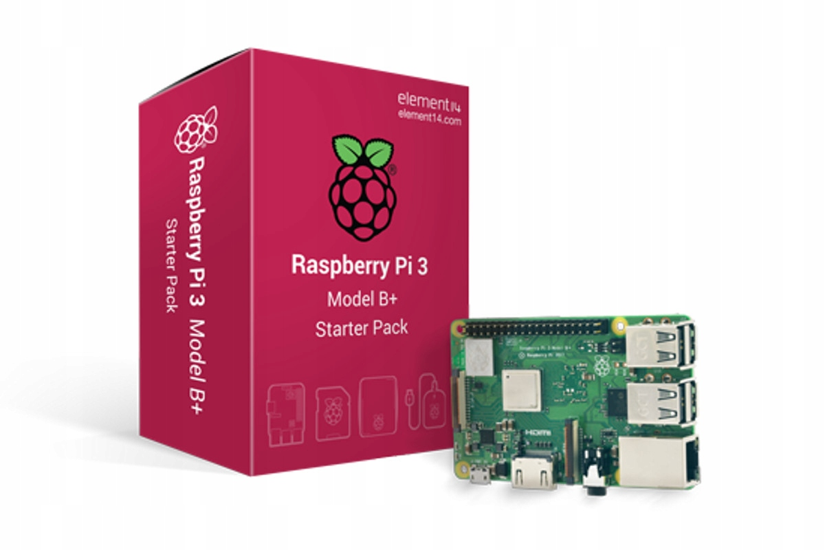 Item Raspberry Pi 3 model B+ starter pack official