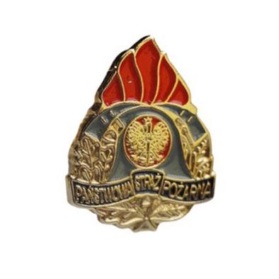 PSP State Fire Brigade Pins Tlačidlá