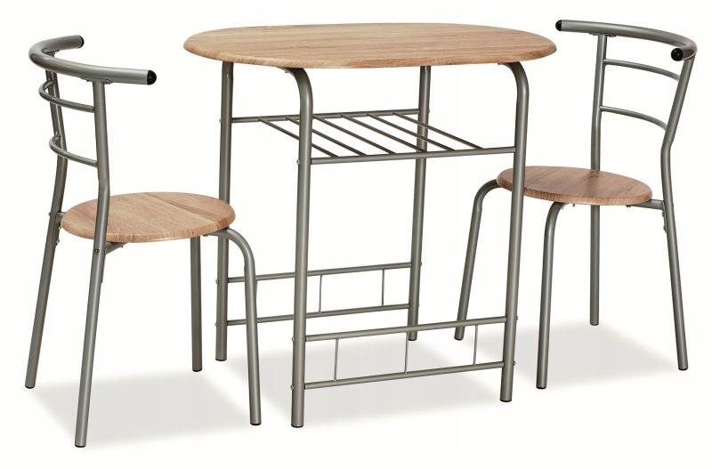 Súprava GABO SONOMA dub stôl, stoličky