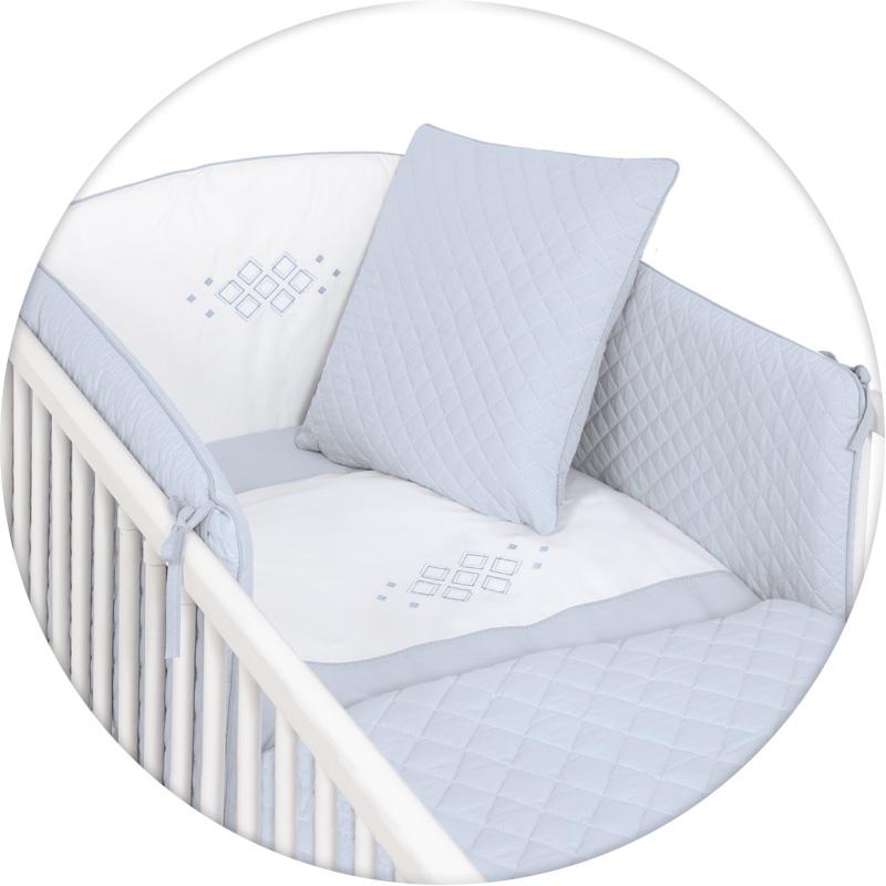 Ceba Baby poÅciel 5-elementowa Caro Niebieska