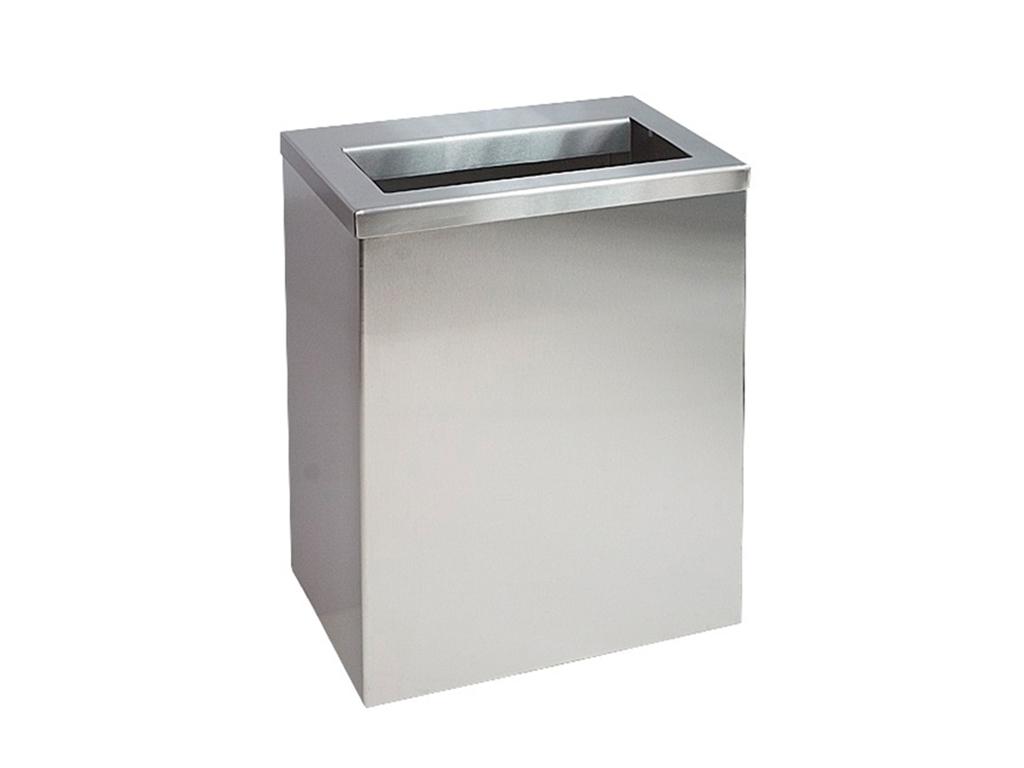 Odpadkový kôš STRANG-PRO vyrobený z nehrdzavejúcej ocele 25L