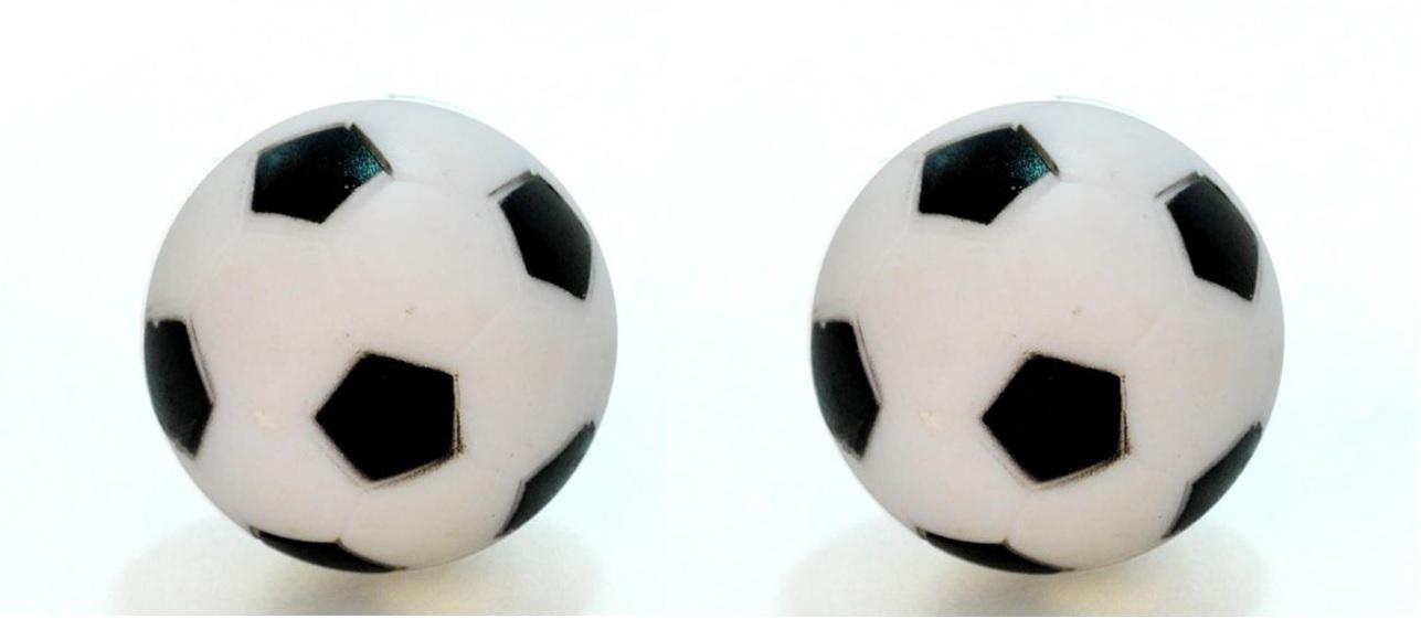 Backup Ball pre stôl Futbal Black a Biela 2