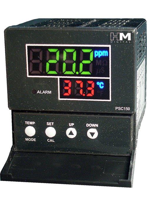 Monitor vodiča EC / TDS / TEM HM-DIGITAL PSC-150