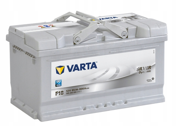 аккумулятор varta silver 12v 85ah 800a f18