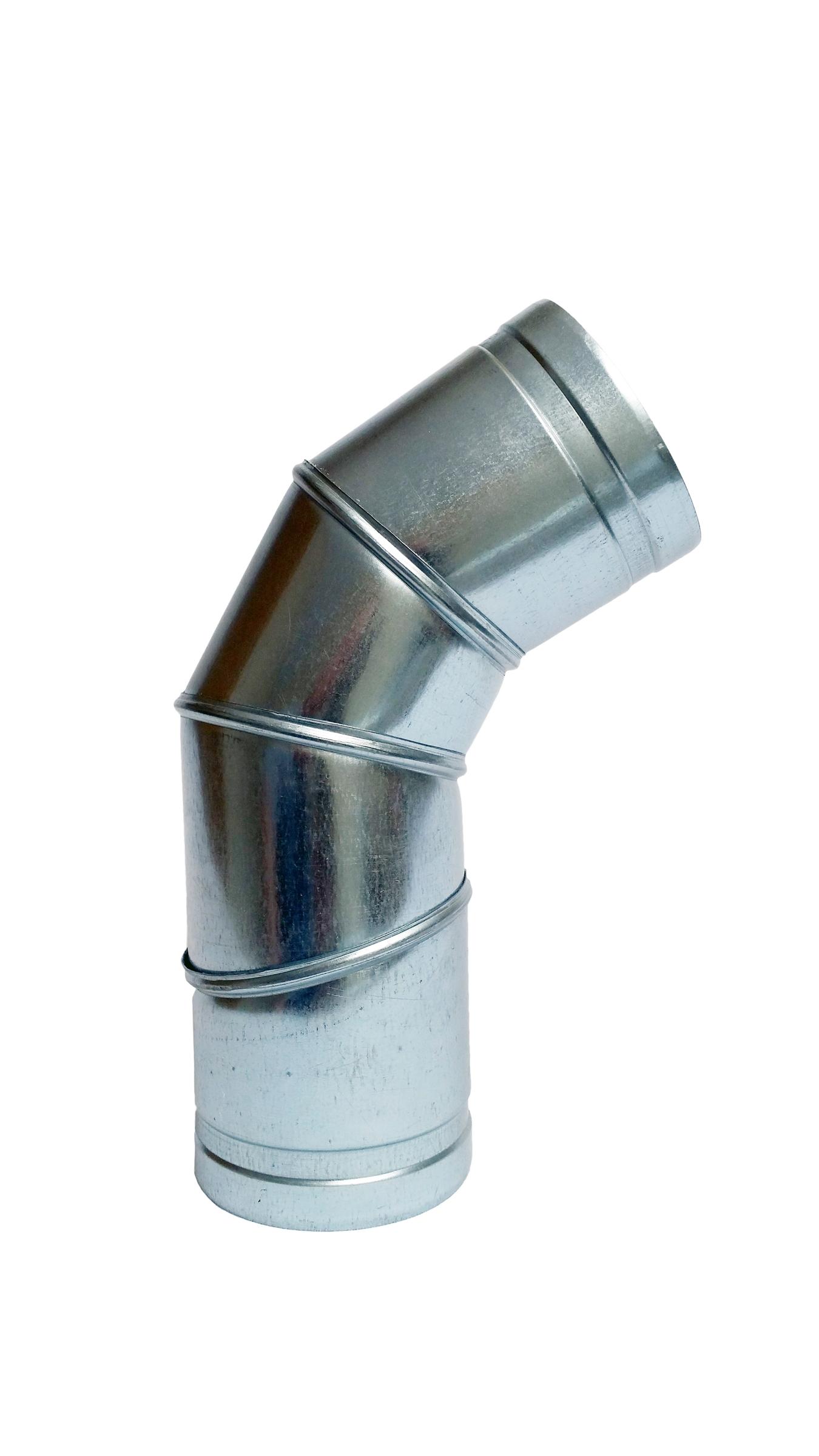Nastaviteľné koleno 0-90 stupňov 140mm extrakcia Spiro Snake