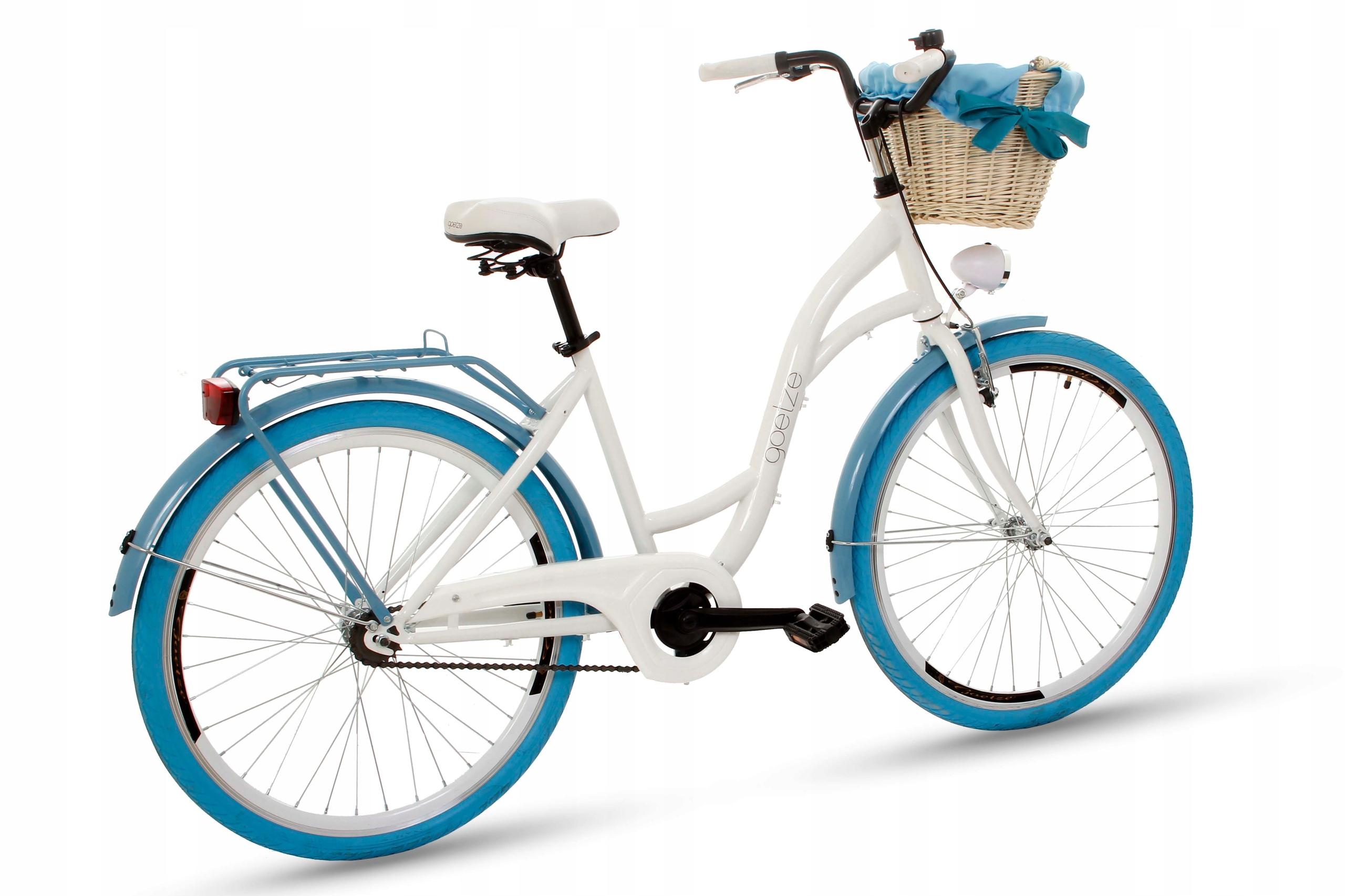 Dámsky mestský bicykel Goetze COLORS 26 košík!  Materiál rámu oceľ