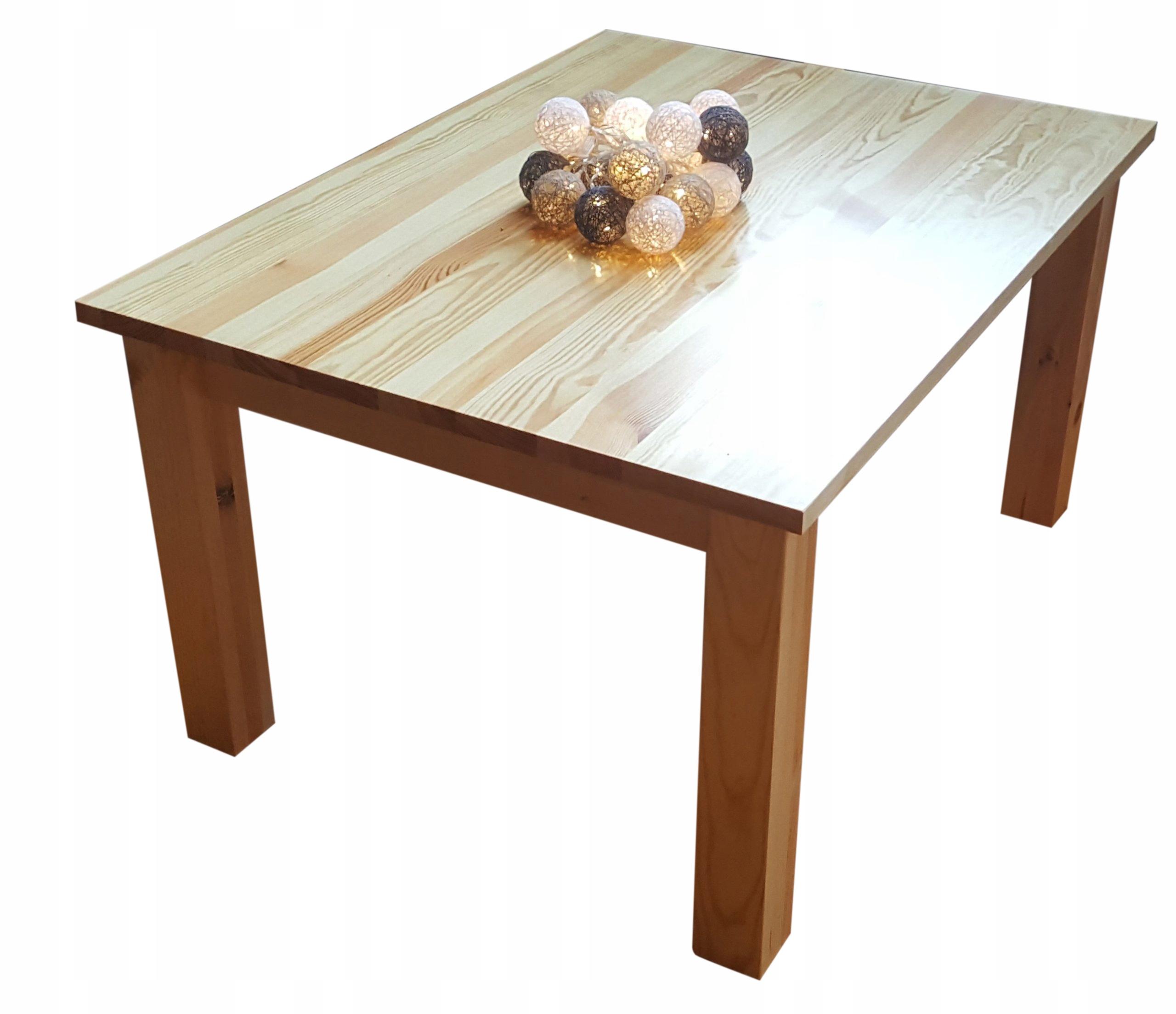Stół drewniany sosnowy 90x90 ELEGANCKI NOWOCZESNY Kod produktu ..