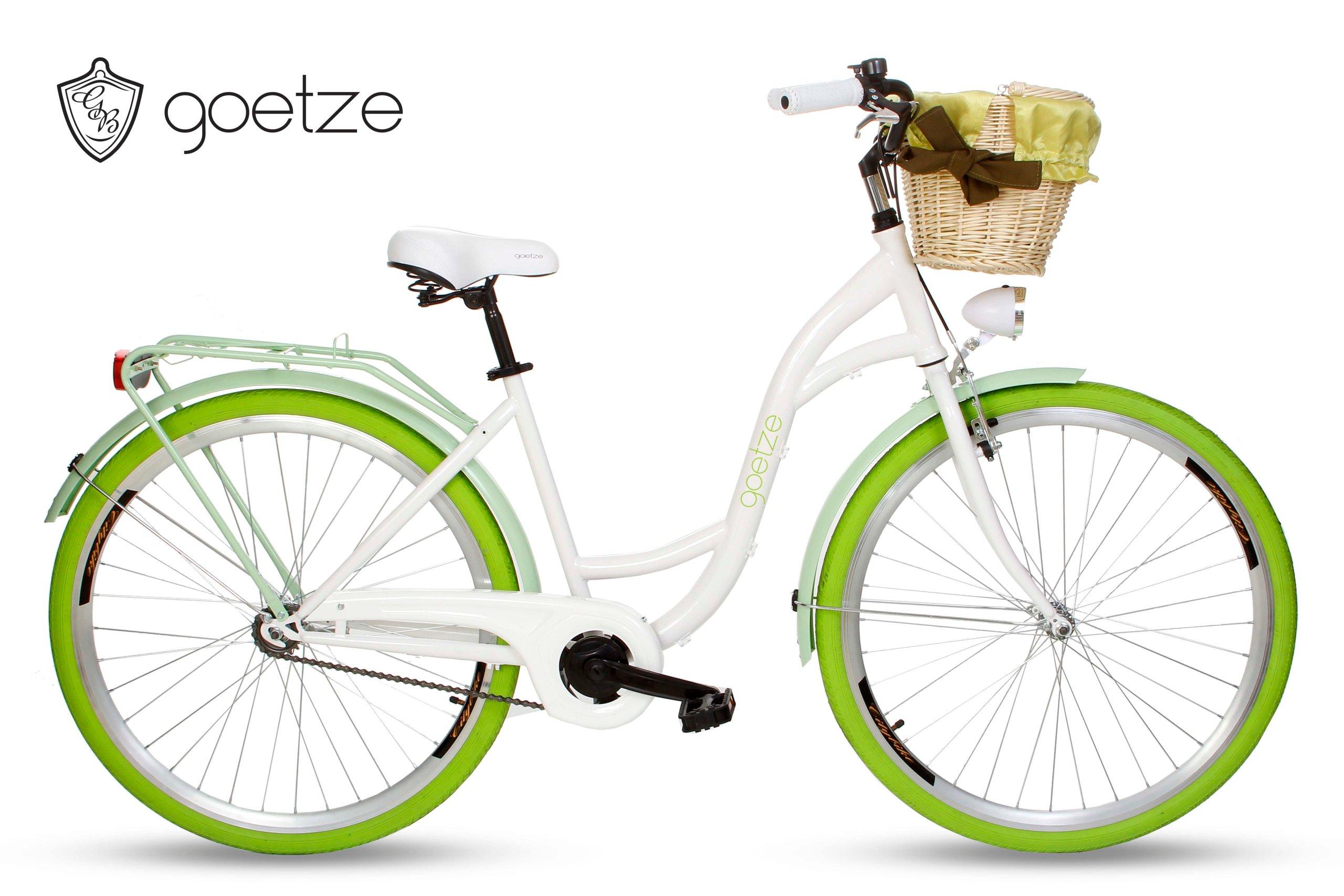 Ženské city bike Goetze LTD ČUČORIEDKA 28 kôš