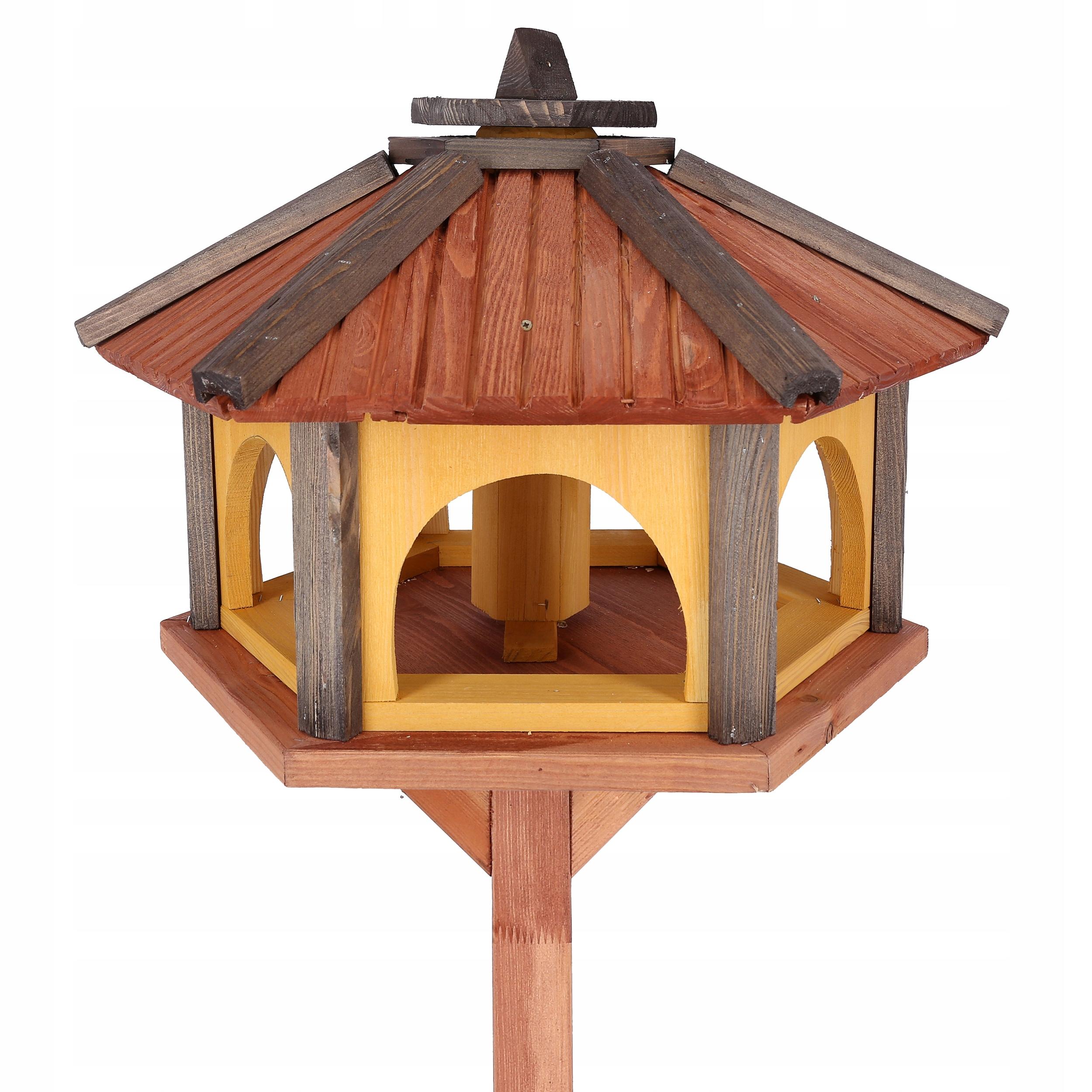 Купить Кормушки для птиц, дерево с wsypem Кормушка KW50 на Otpravka - цены и фото - доставка из Польши и стран Европы в Украину.
