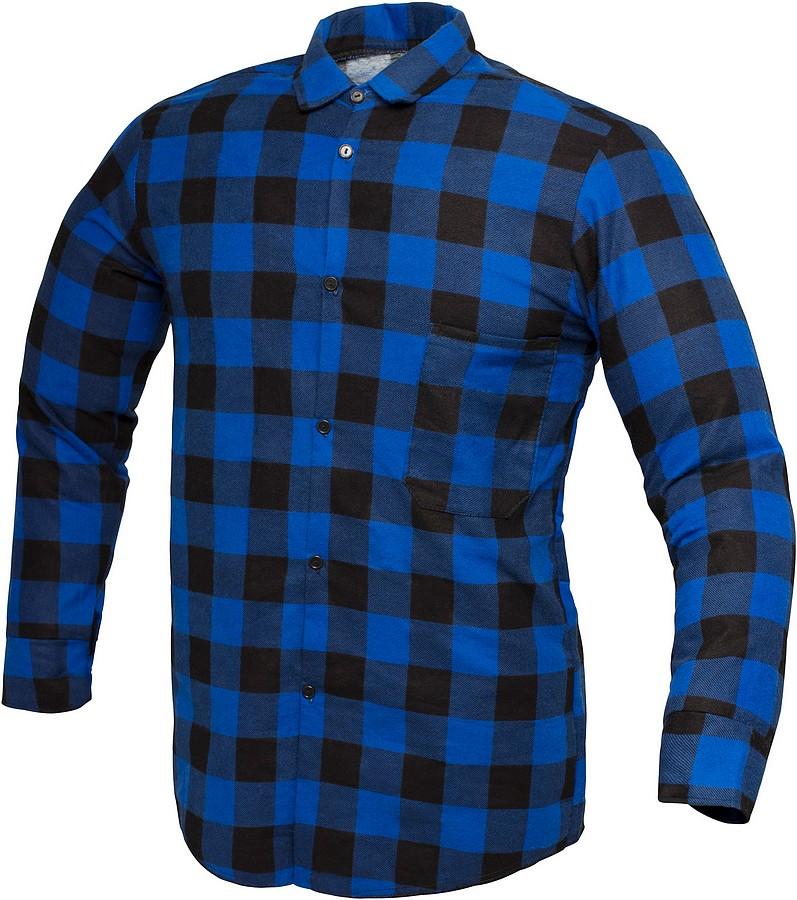 Koszula flanelowa robocza POLSKA 100% BAWEŁNA L 6936463300  jOuD2