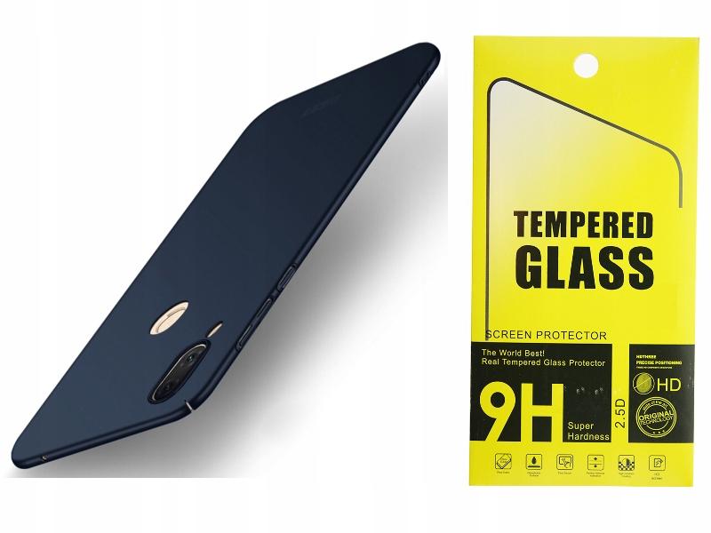 Etui Ultra Slim Silky Touch Huawei Nova 3 + Szkło