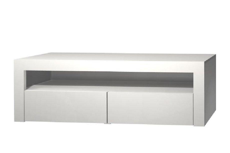 ШКАФ WHITE TV TABLE 160 CM WHITE MATTE 2 K