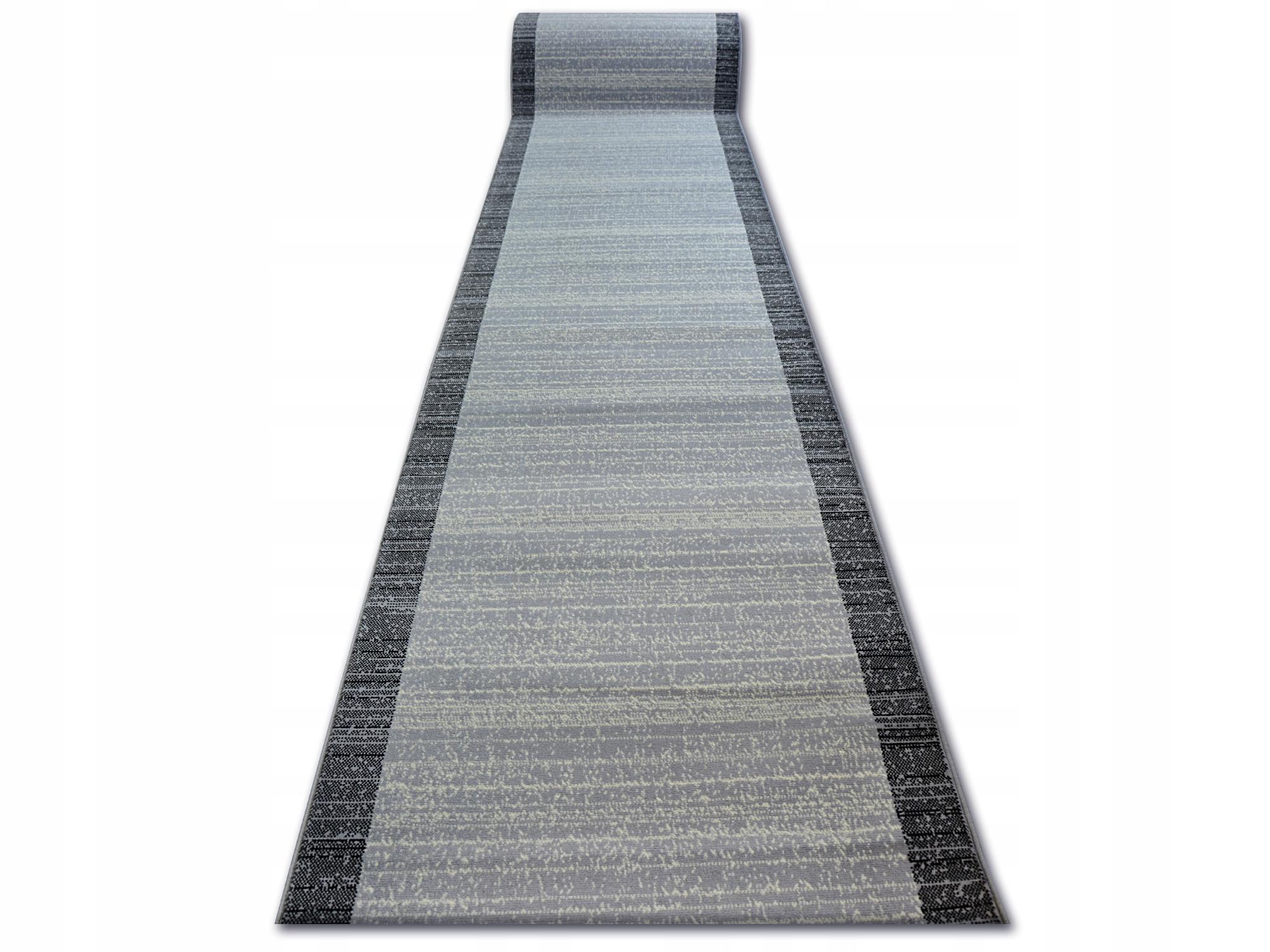 Dywany łuszczów Chodnik 80cm Base Koniczyna Ramka