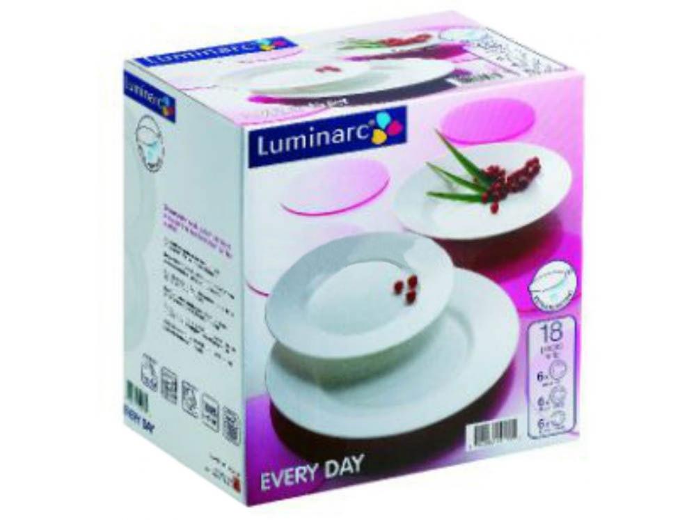 05673 Luminarc Každý deň Dinnerware Set 18