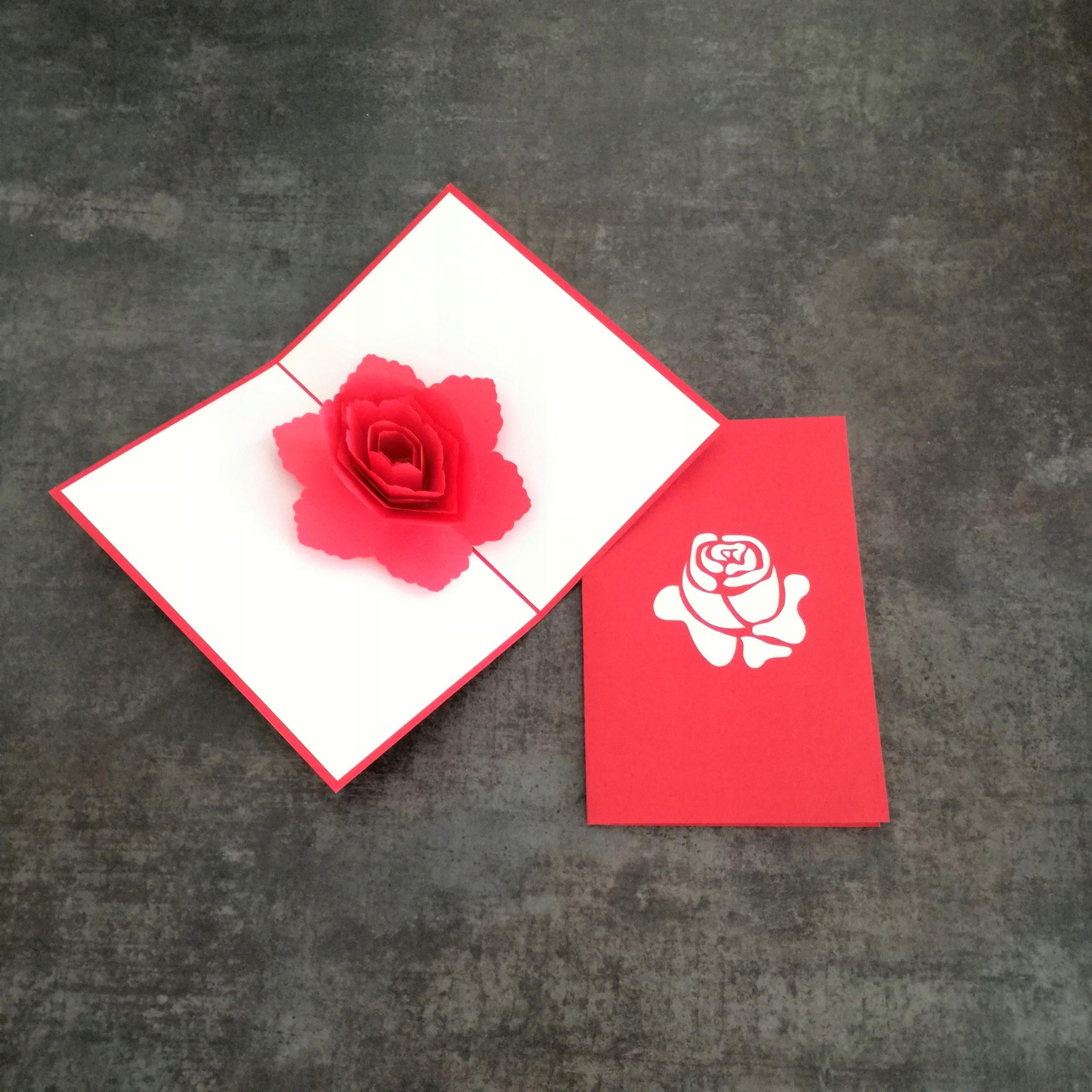 Открытка 3 красных розы