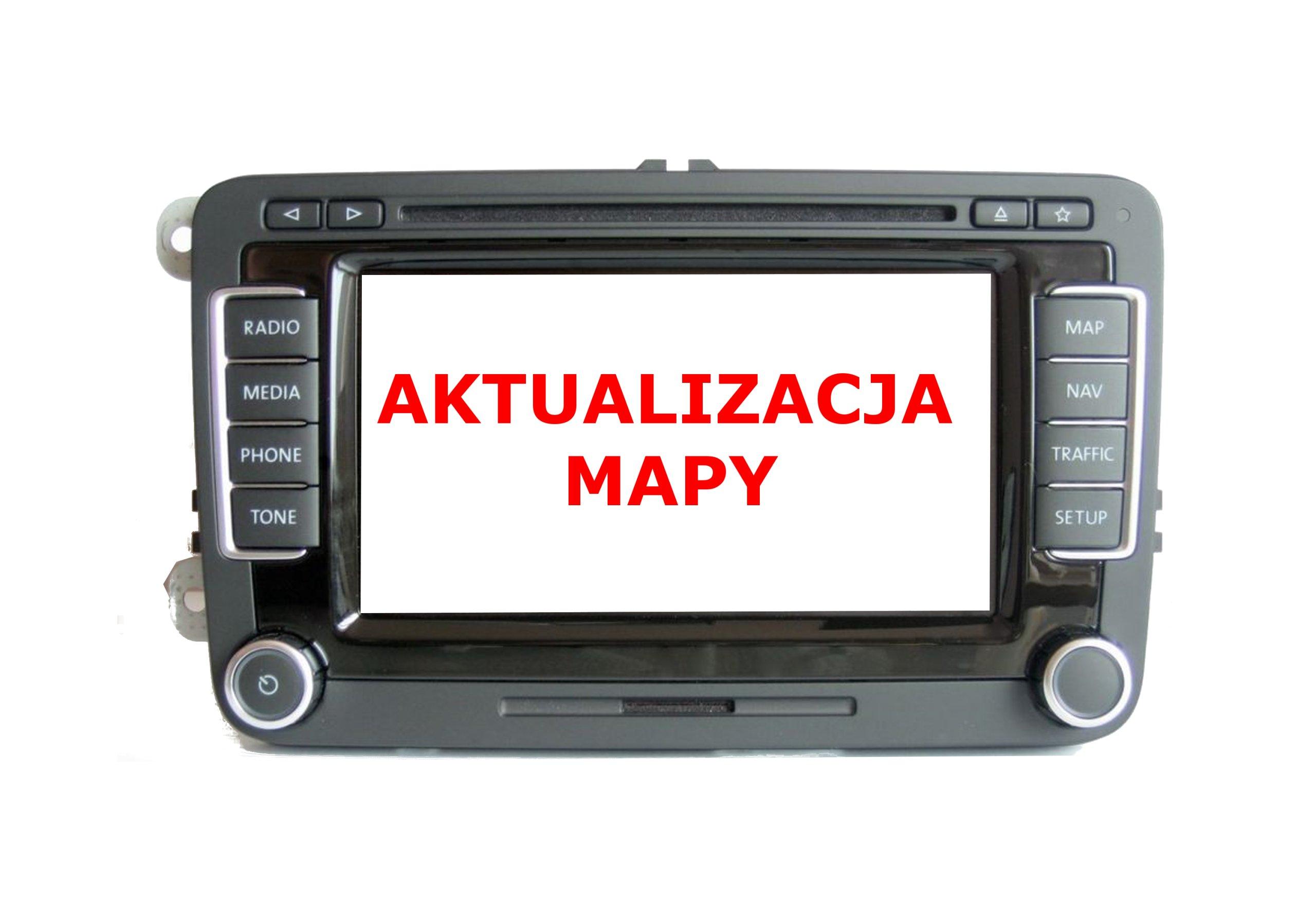 afbdacfce VW RNS510 SKODA COLUMBUS MAPA V15 WEST NAJNOWSZA 7546025992 - Allegro.pl
