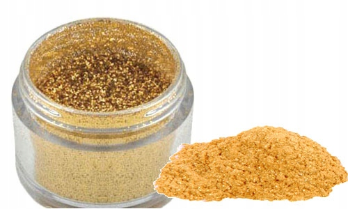 Item The Food dye GOLD GLITTER CANTEEN jars