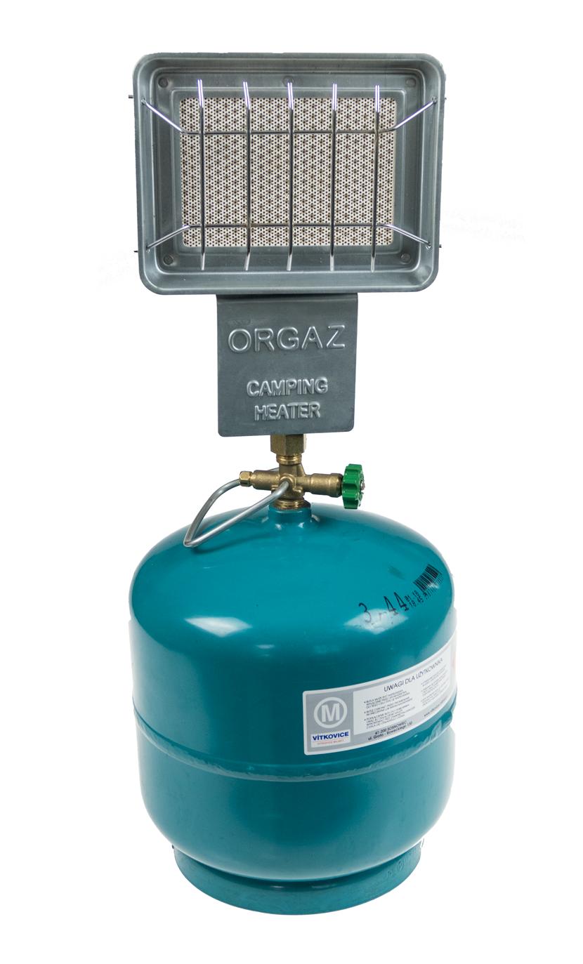 Promiennik gazowy ogrzewacz dla wędkarzy