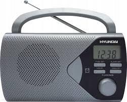 NOVÉ! Retro rádio Hyundai PR 200 Striebro