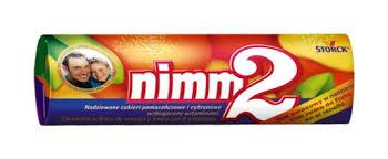 KVAPKY NIMM 2 OVOCIA CANDY S VITAMÍNMI - 24PCS