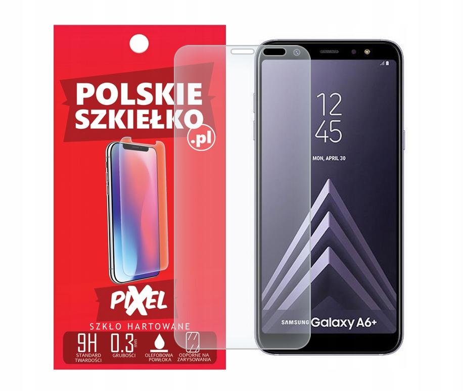 Polskie Szkło Hartowane do Samsung Galaxy A6+ Plus