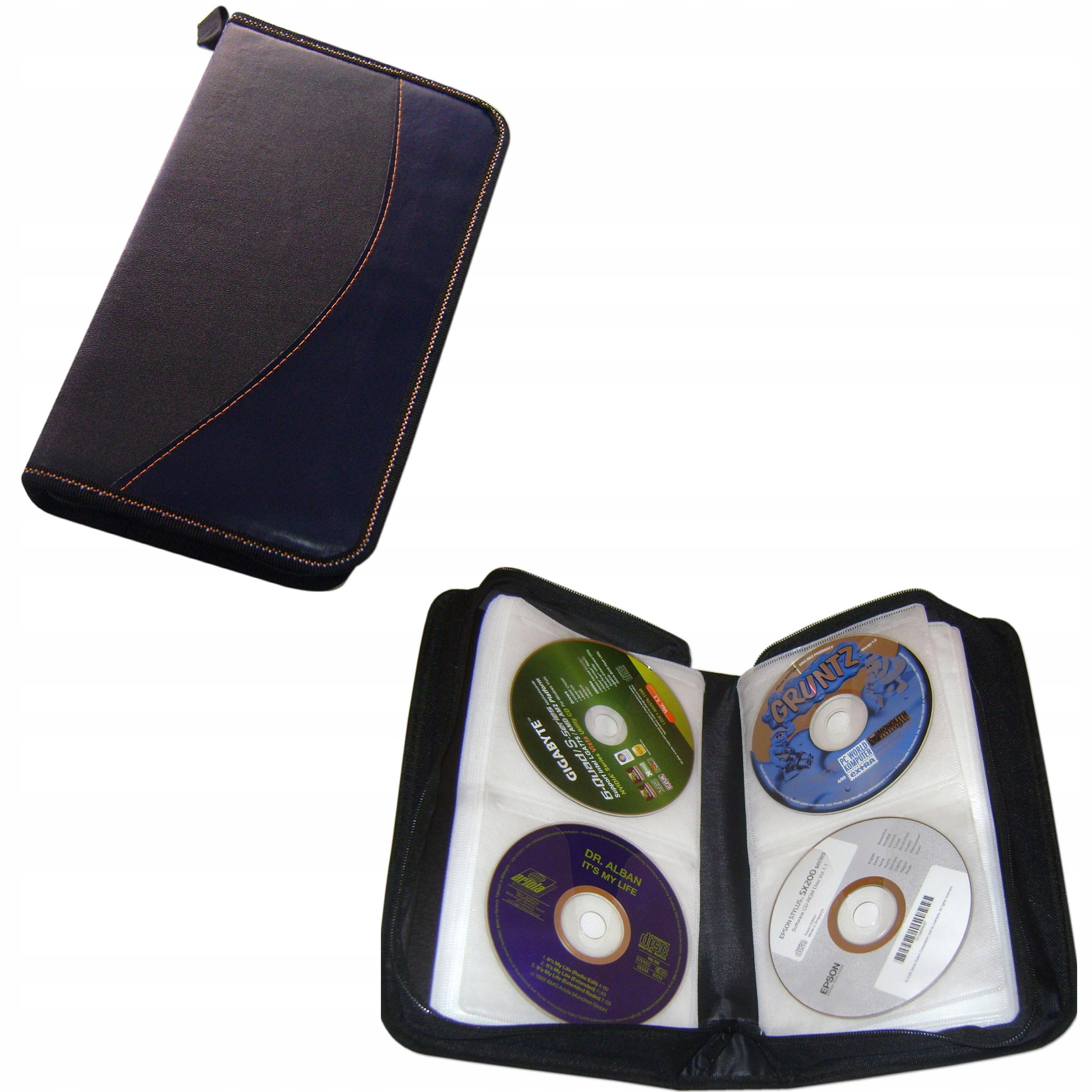 Item CASE cover pouch CASE for CD DVD 80szt SKIN