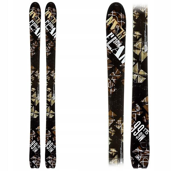 Nové Lyžiarske Skitour FREERIDE 185 cm ELAN 999 DREVA
