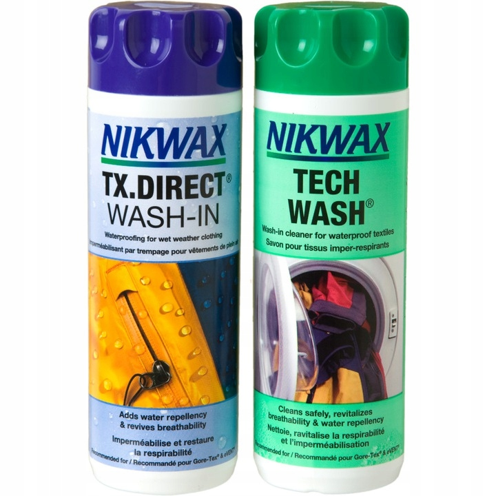 Набор NIKWAX TECH WASH+TX.DIRECT WASH-IN 2x300ml