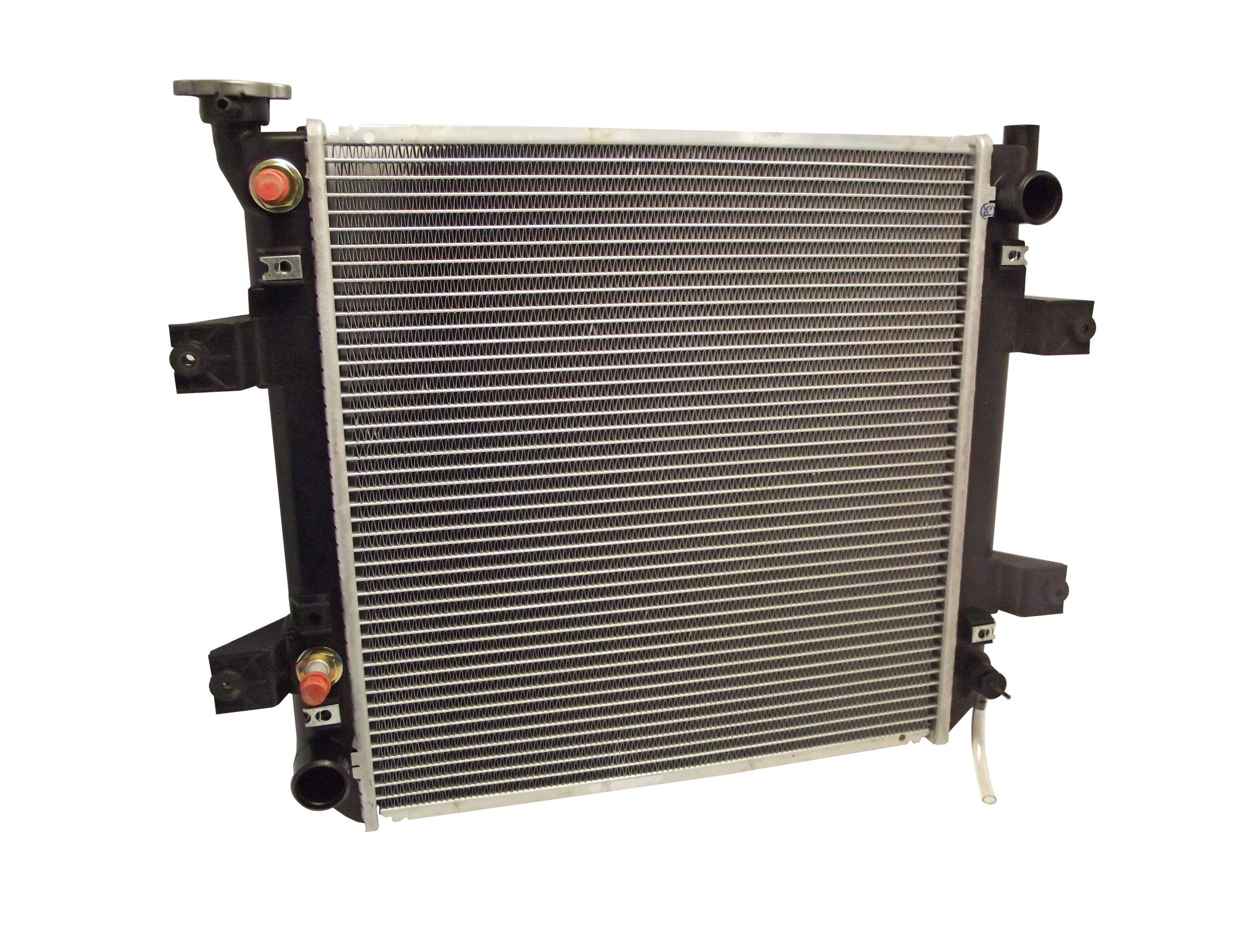 radiator traverse forklift NISSAN H25 TD27