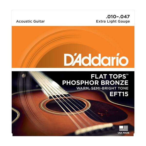 DADDARIO Brúsne struny pre akustickú gitaru!