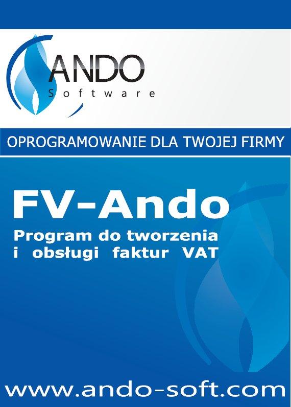 FV-Ando - program do fakturowania, faktur VAT -ESD
