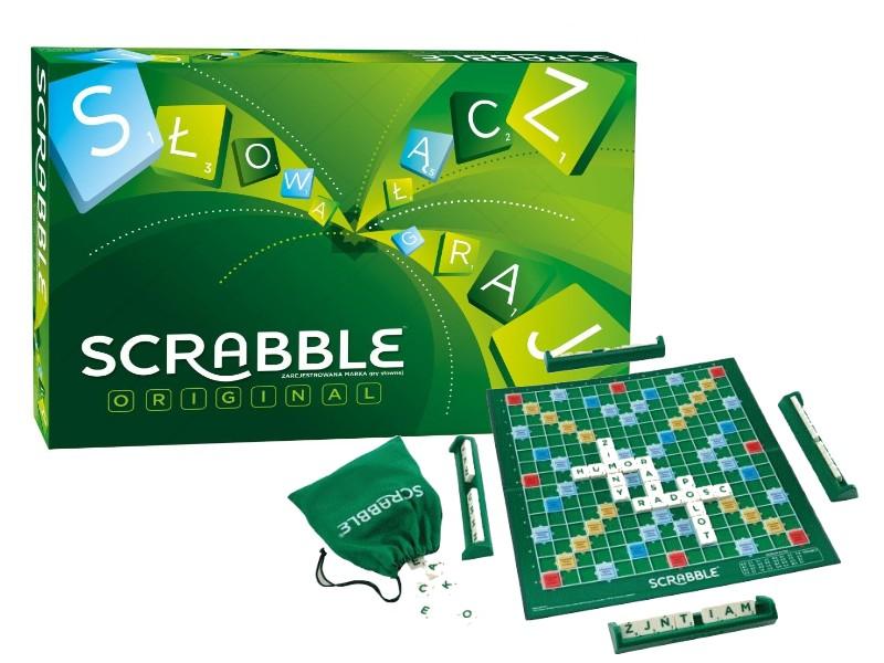 Item GAME SCRABBLE ORIGINAL Russian version Y9616