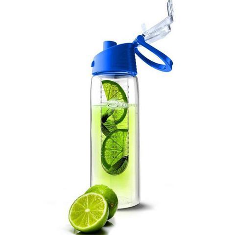 Al fľaša fľašu s vodou s 800 ml ovocnou kazetou