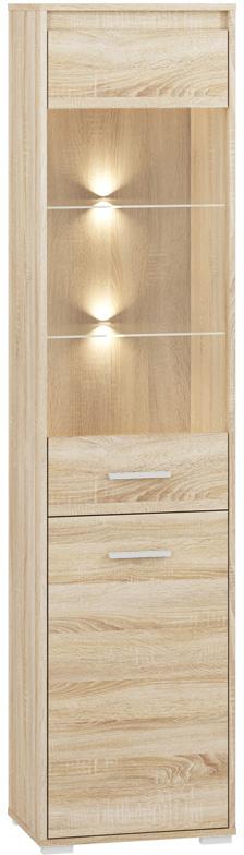 АВО 05 шкаф-витрина 48 см с легкими полками-сономами