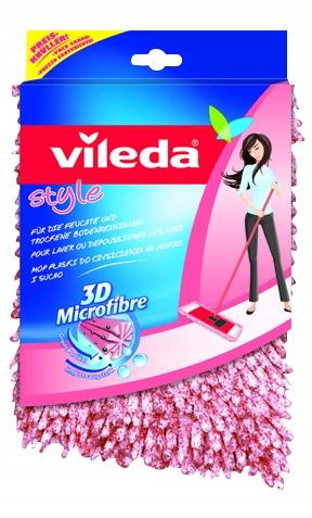 Вставка для плоской швабры Vileda CHENILLE 3D Style