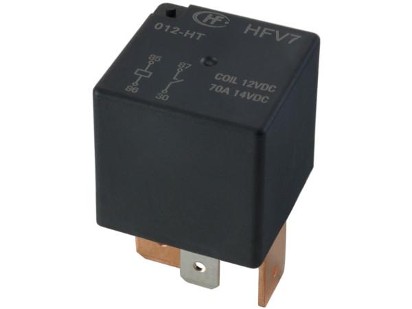 реле автомобильный 12v 70a 4 pin hongfa 9 5mm