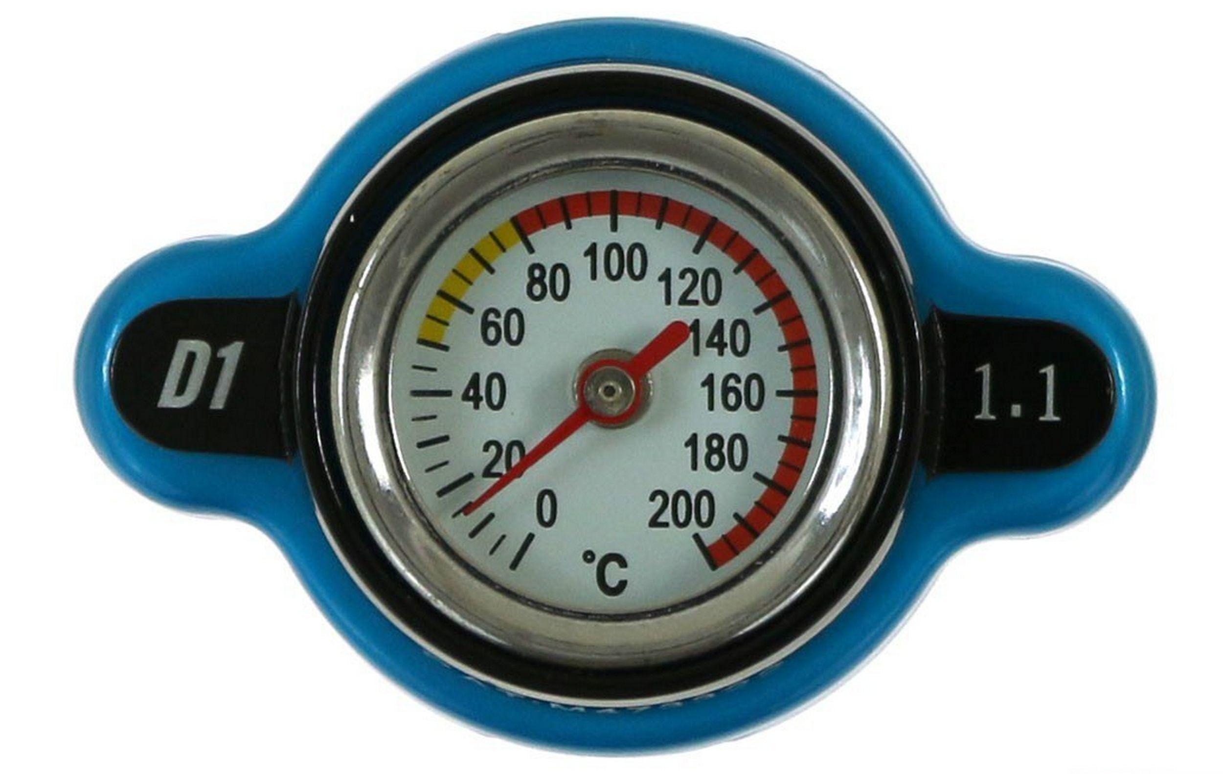 пробка настой радиатора 28mm 11bar d1spec термометр