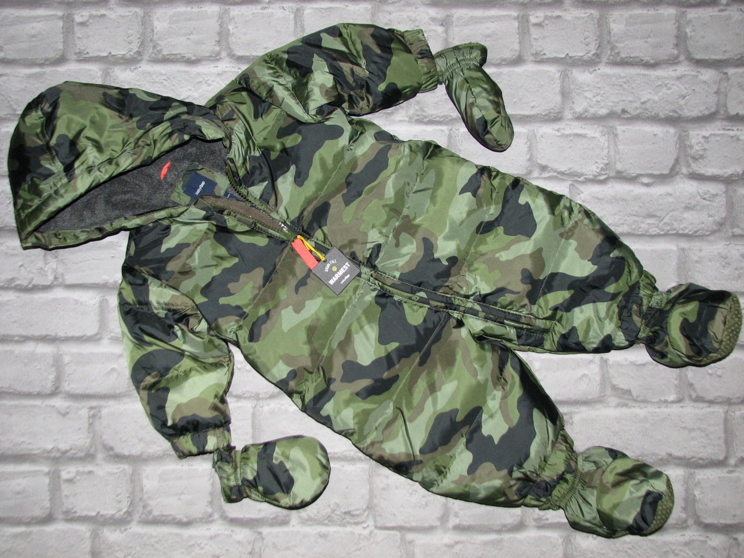 gap_zimowy dieťa jumpsuit 0-9 puchowy_ m-cy_nowy